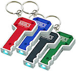 Key Shape LED Keychains